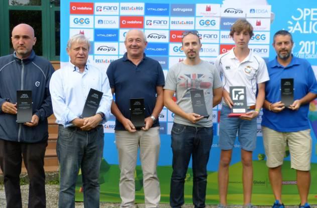 Ganadores del año pasado en el C. G. Hércules - FOTO: ECG