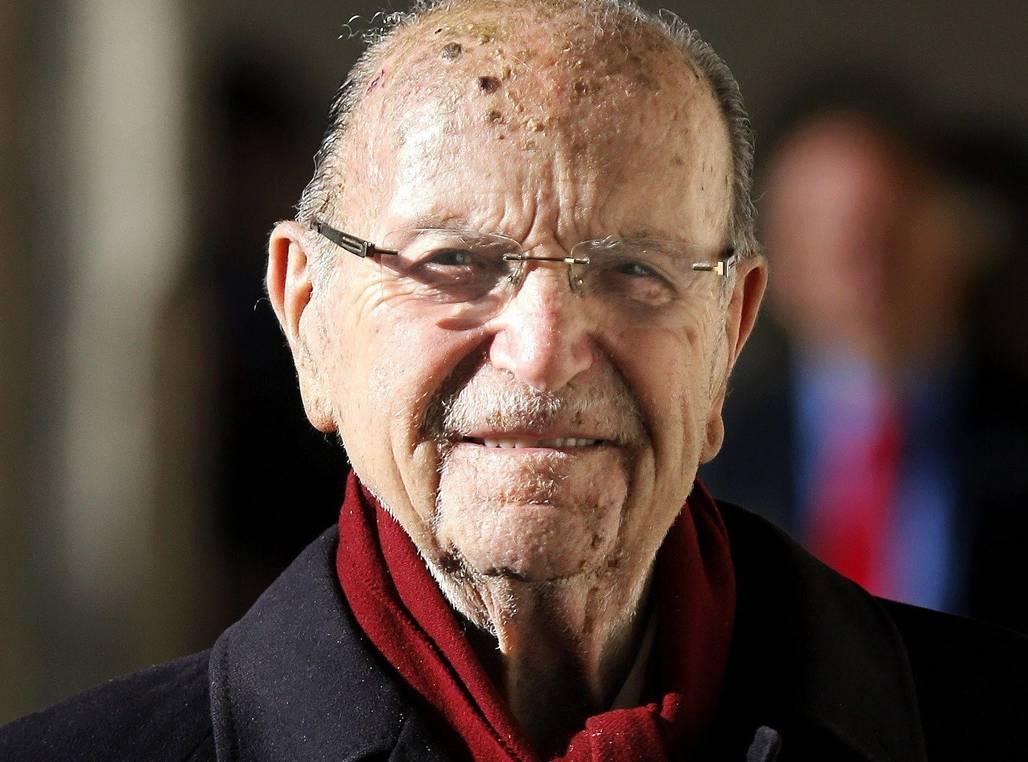 Foto de archivo tomada el 4 de Enero de 2013 del expresidente de la Xunta de Galicia Xerardo Fernández Albor que ha fallecido a los 100 años - FOTO: EFE/Lavandeira Jr