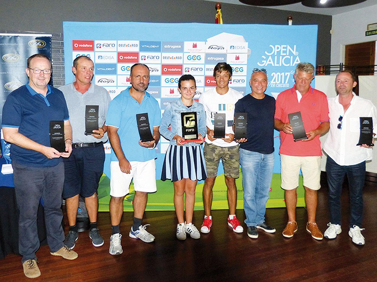Open de Galicia de Golf celebrado en Vigo