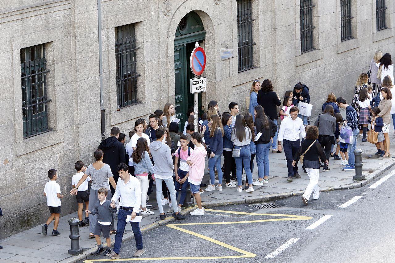 Comienza el curso escolar en Santiago