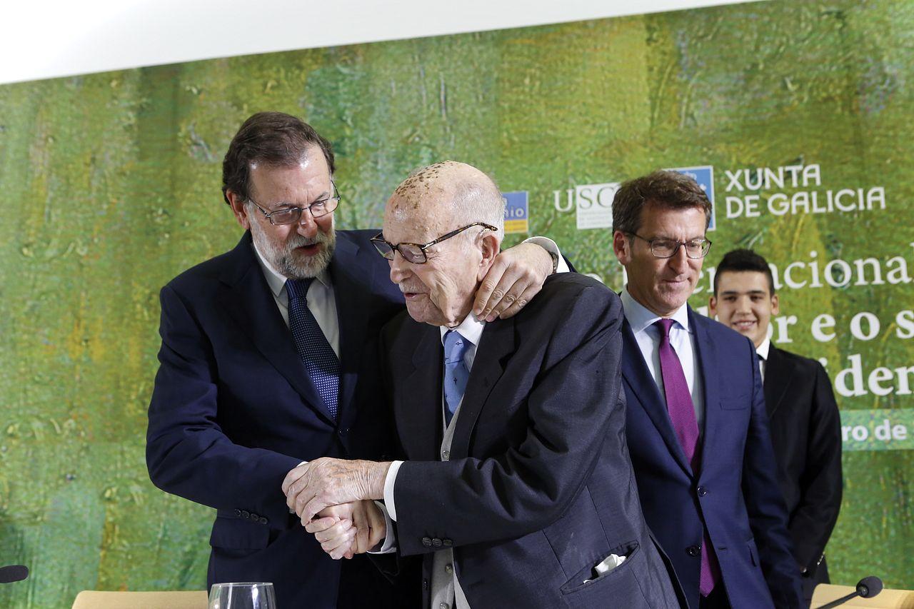 Gerardo Fernández Albor, un sentido homenaje en la Cidade da Cultura