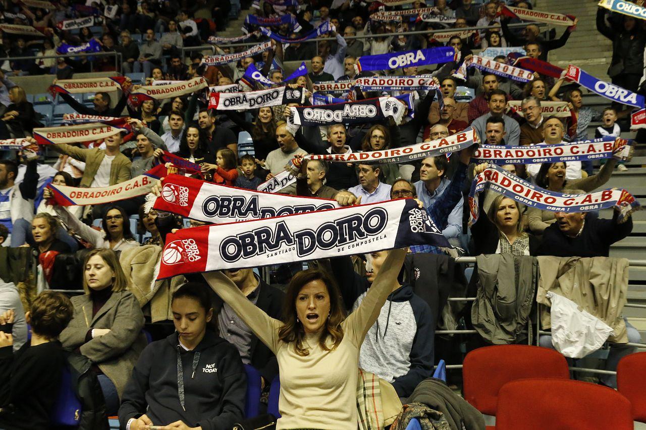 Las imágenes del partido Obradoiro, 79 - Gran Canaria, 65