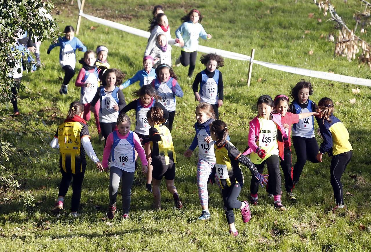 Campeonato escolar de campo a través escolar en Santiago
