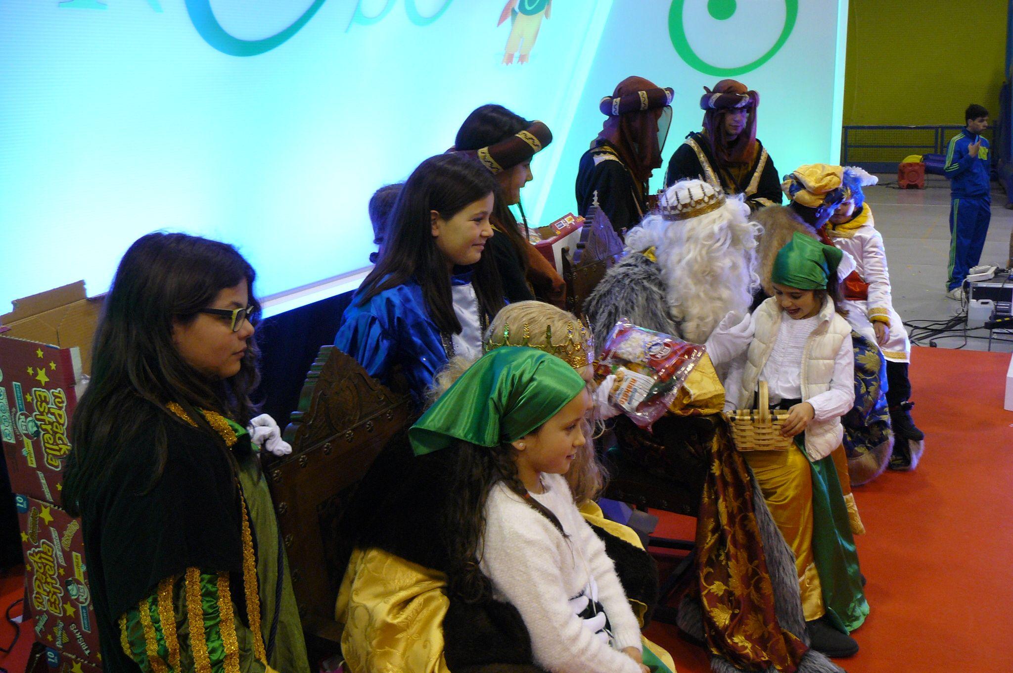 Los Reyes Magos en Área de Compostela