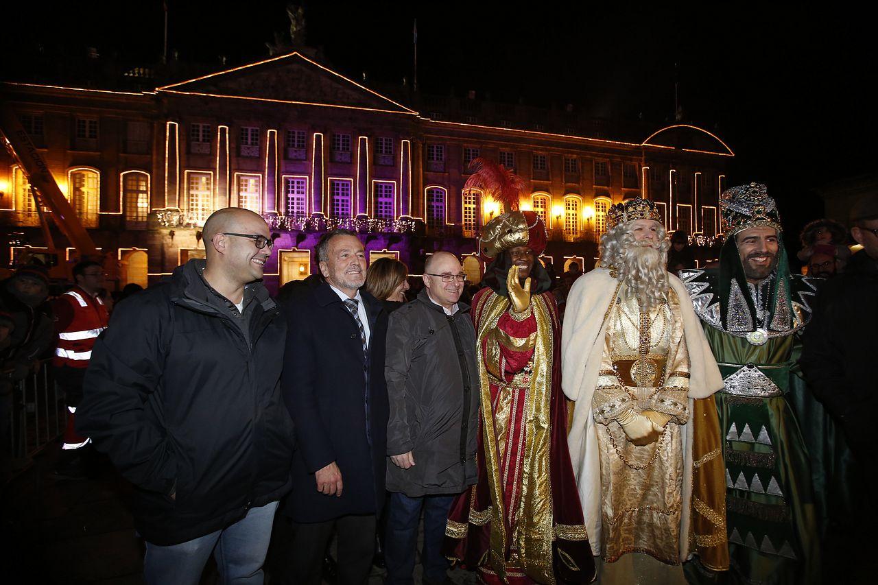 Los Reyes Magos en Santiago