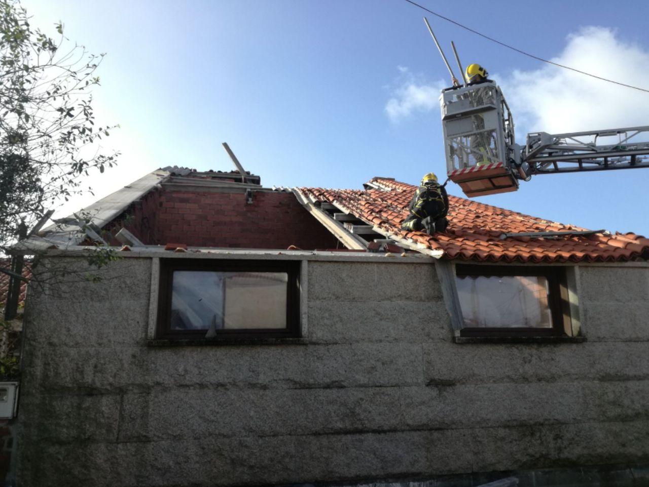 Tornado en Sanxenxo