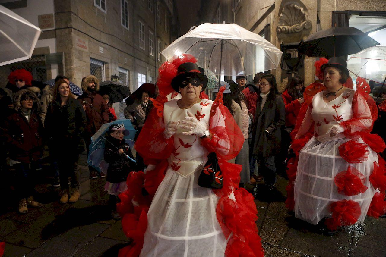 Entroido en Compostela