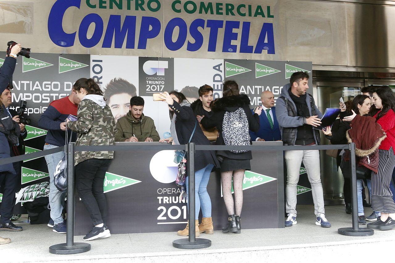 Operación Triunfo llegó a Compostela con Roi y Luis cepeda