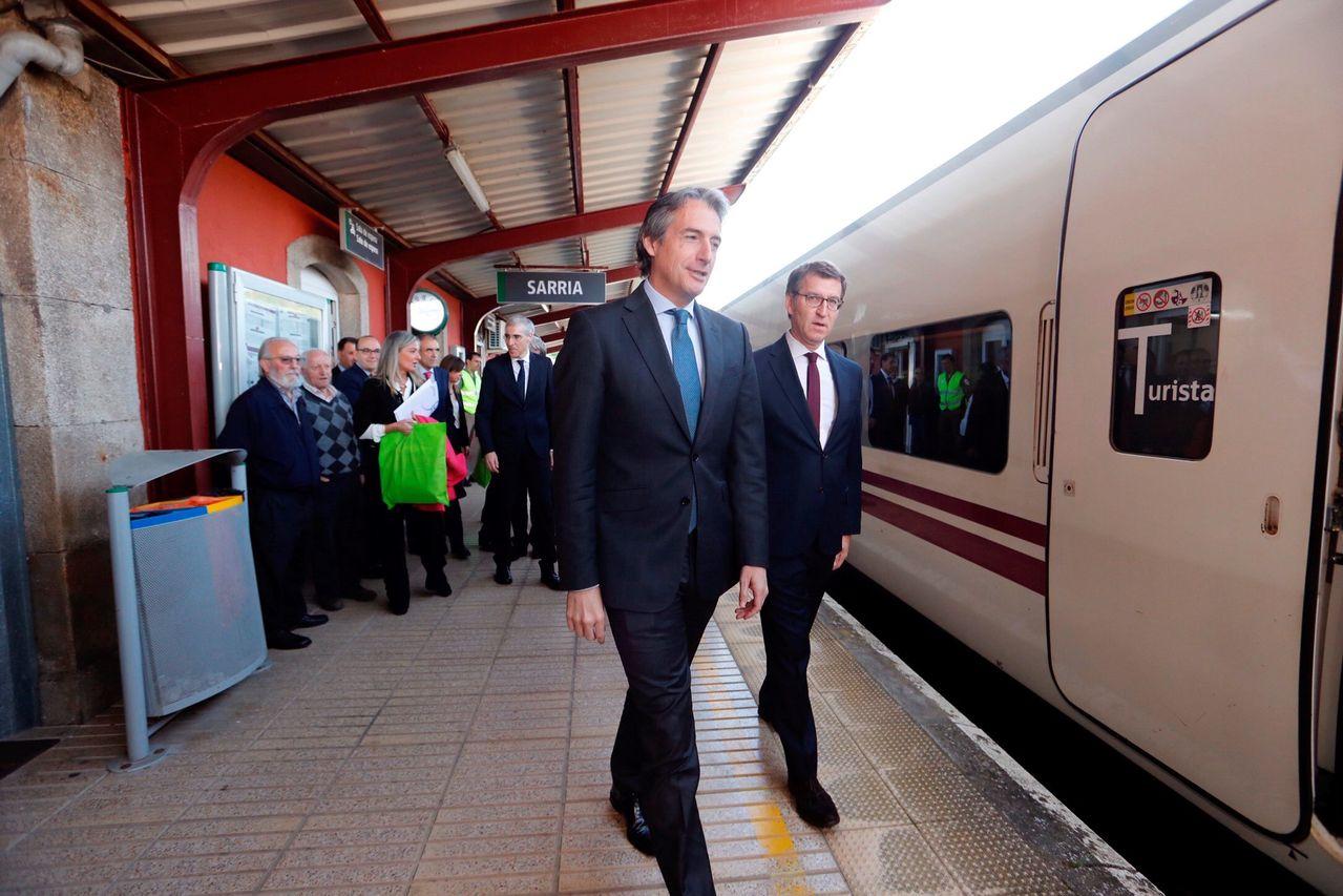 Presentación de la conexión ferroviaria entre Ourense y Lugo