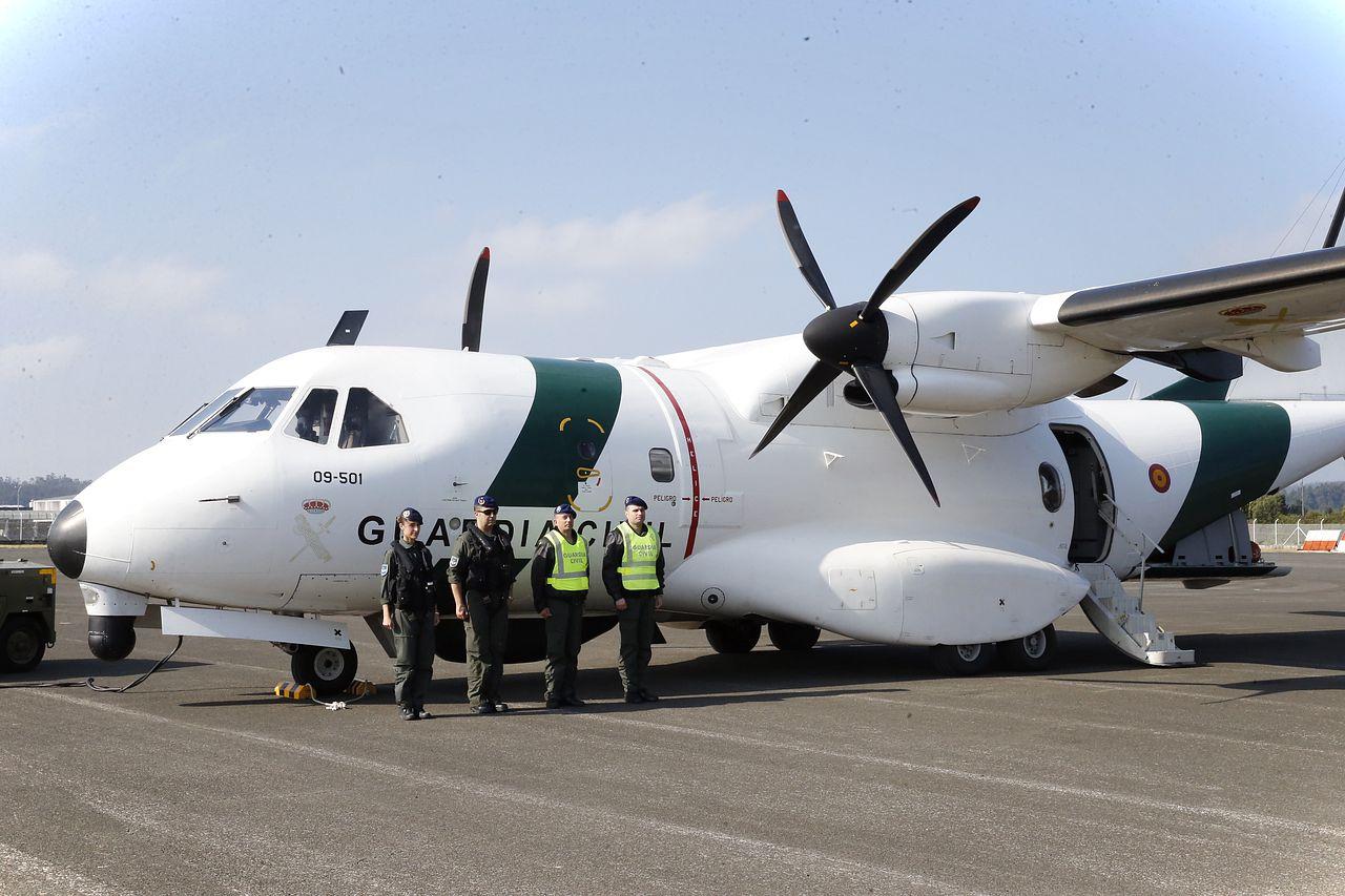 Nuevo avión de la Guardia Civil destinado a vigilancia aduanera