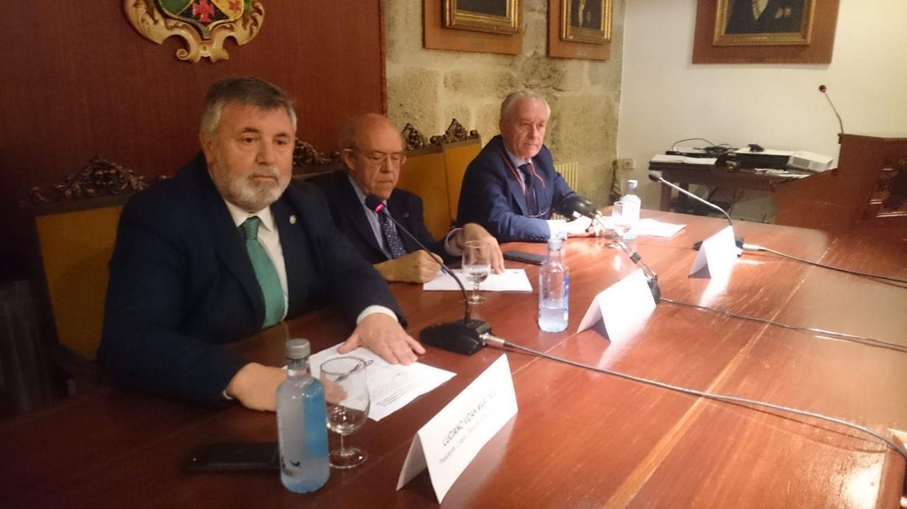 Pedro Lylyk, Miembro de Honor del Colegio Oficial de Médicos de A Coruña