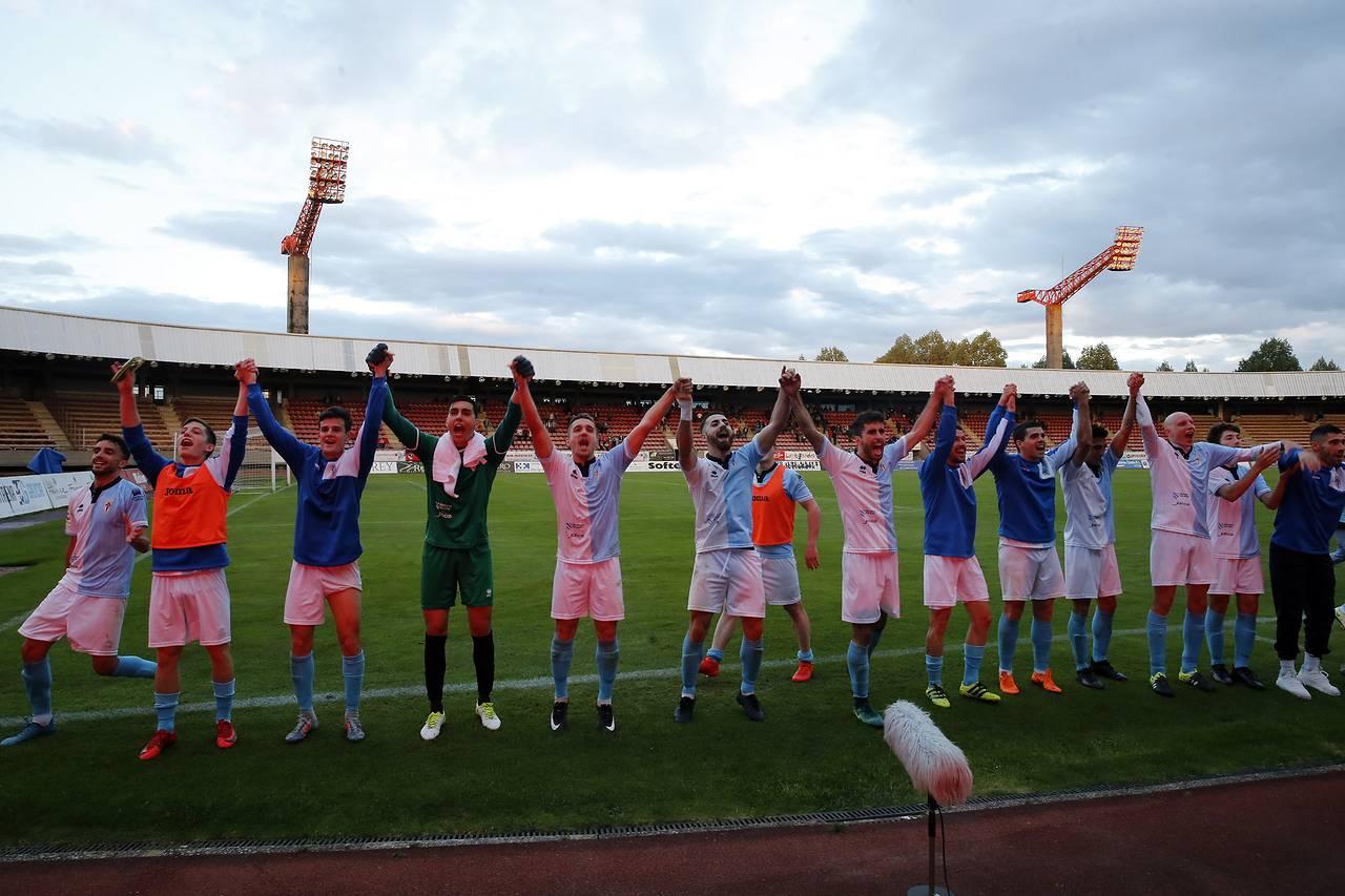 Compostela, 3 - Terrasa, 0 - Fase de Ascenso a Segunda B