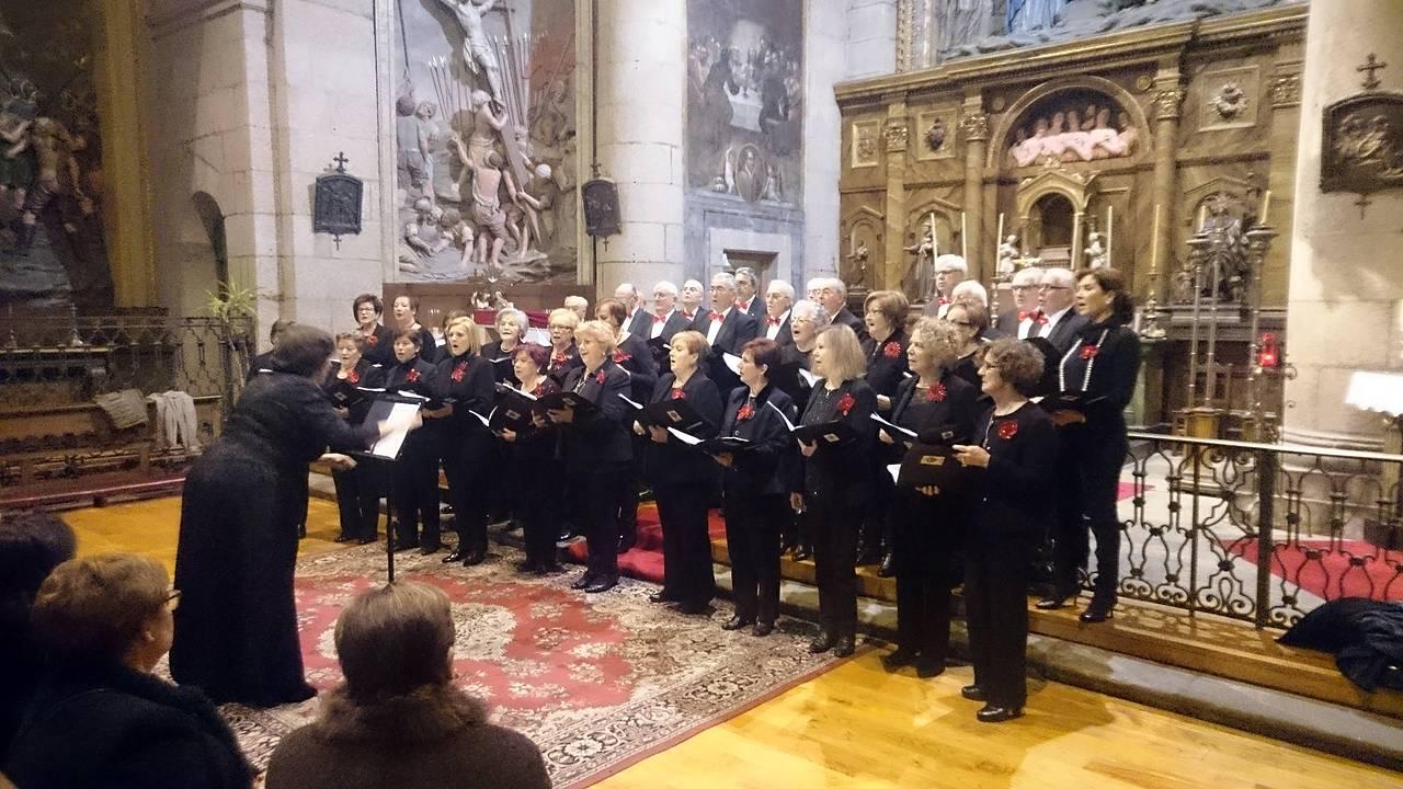 V Concerto Nadal Solidario das Corais de Compostela na Capela das Ánimas