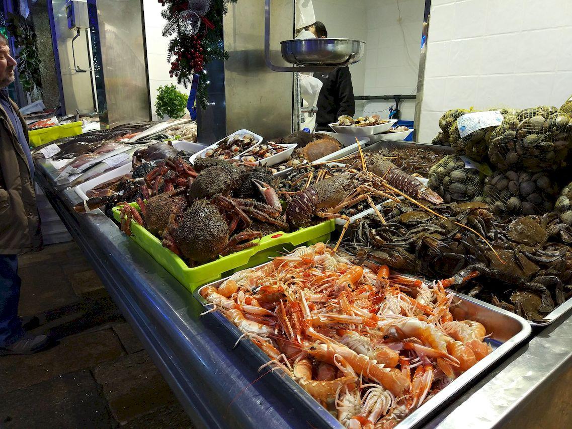 Compras festivas en el Mercado