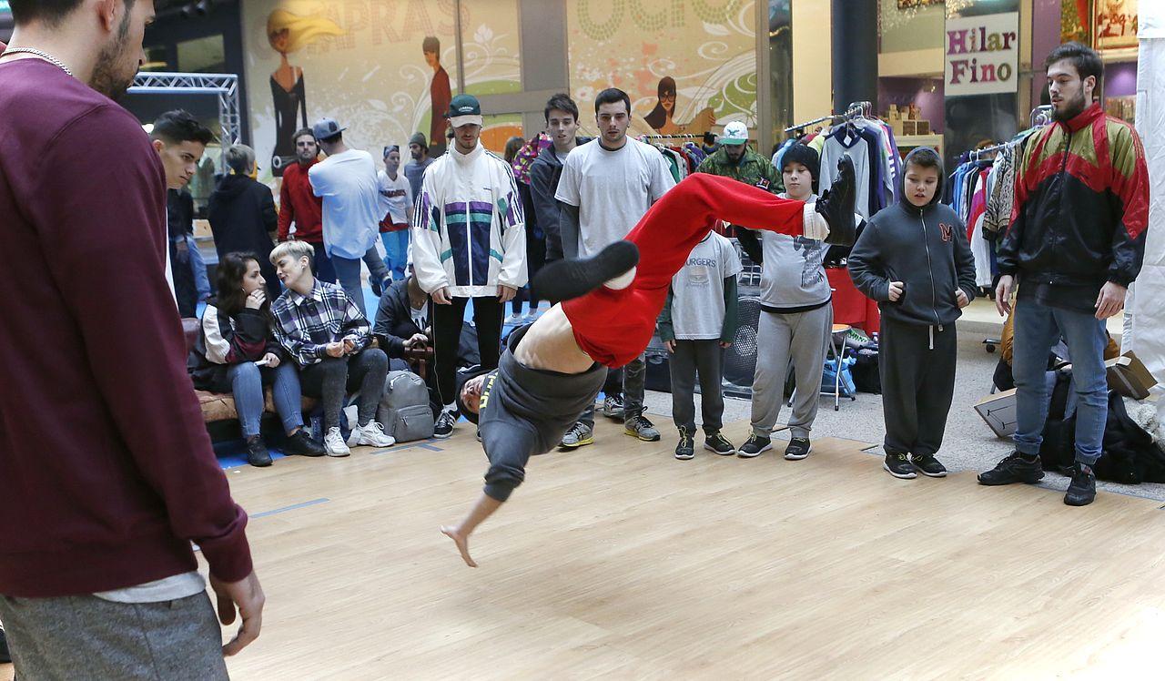 Concurso de Breakdance en Área Central
